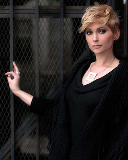 Pictures of cute short hair cuts
