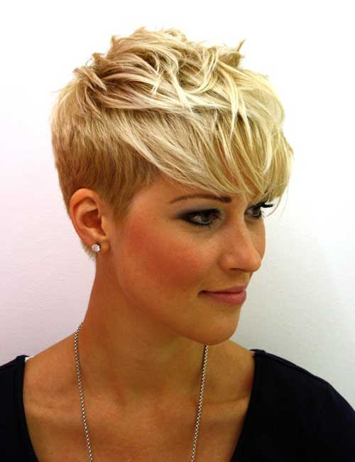 Short Hairstyles for Fine Thin Hair and Round Face | Fashion and ...