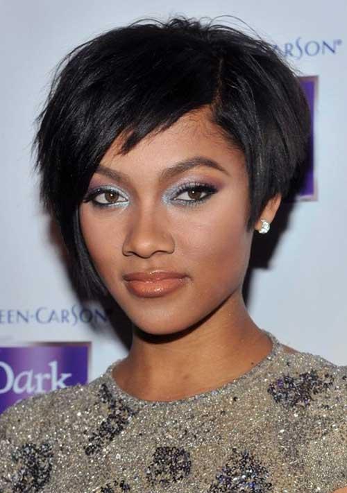 Short pixie cut for black women