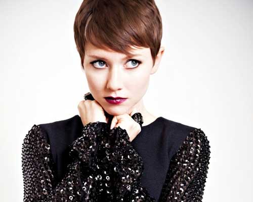 Pixie cut for straight hair