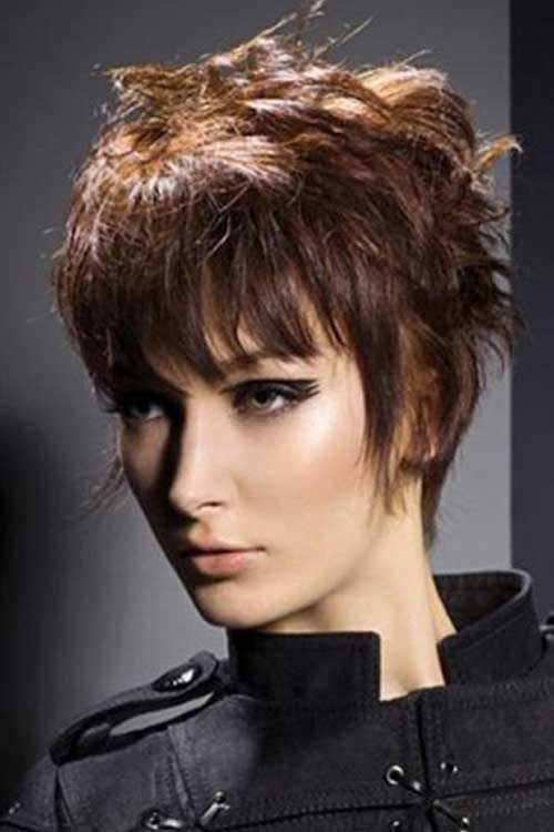 Trendy pixie cuts for women