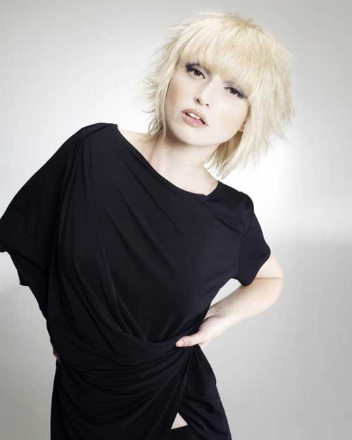 Short Blonde Hair Cuts 2013-1