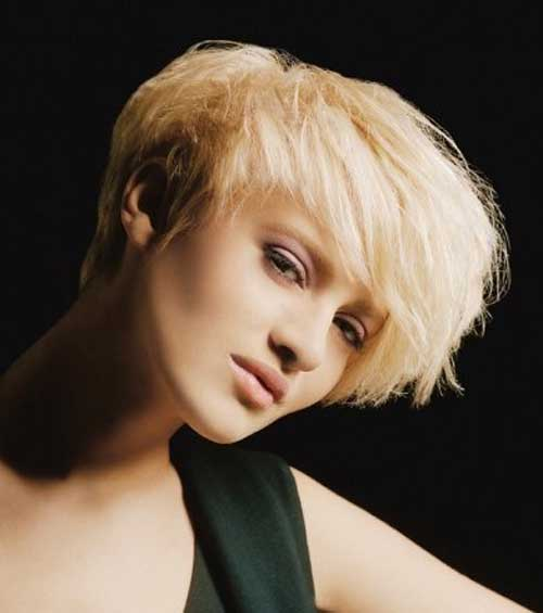 Short Blonde Hair Cuts 2013