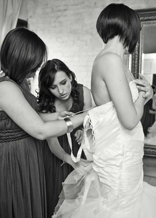 Short Bridal Hairstyles 2013-12