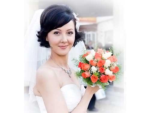Short Bridal Hairstyles 2013-3