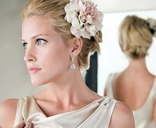 Short Bridal Hairstyles 2013-4