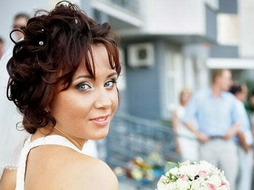 Short Bridal Hairstyles 2013-6
