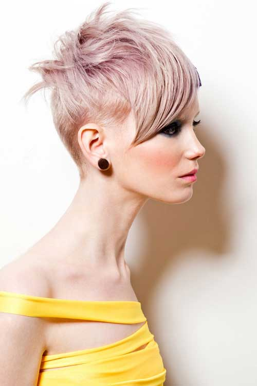 Short Hair Color for Women-10