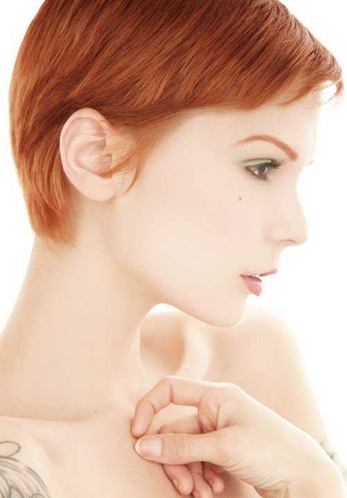 Short Hair Color for Women-11