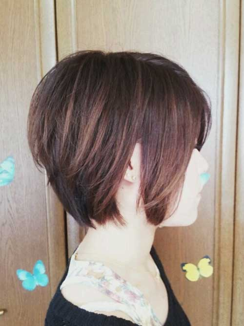Short Hair Color for Women-3