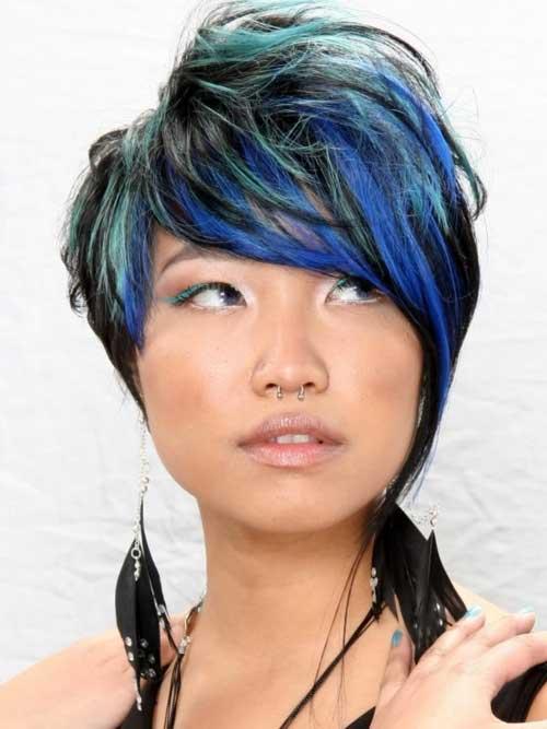 Short Hair Color for Women-4