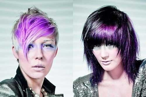 Short Hair Color for Women-5