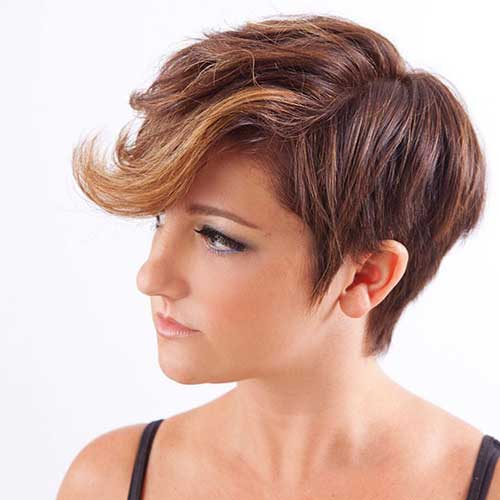 Short Hair Color for Women-6