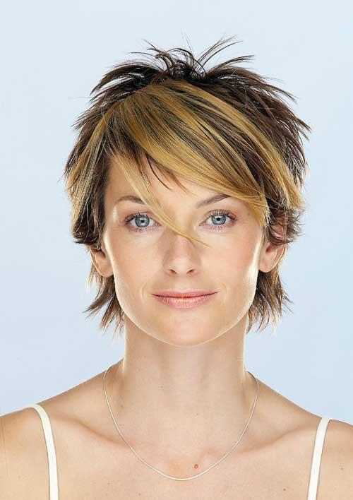 Short Hair Color for Women-7