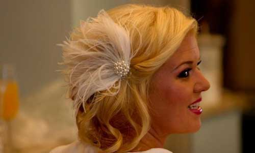 Short Hairstyles for Bridal-10