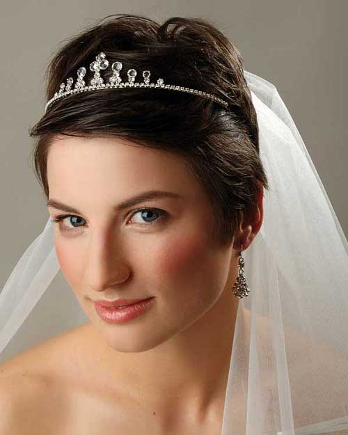 Short Hairstyles for Bridal-2