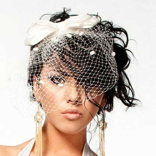 Short Hairstyles for Bridal-3