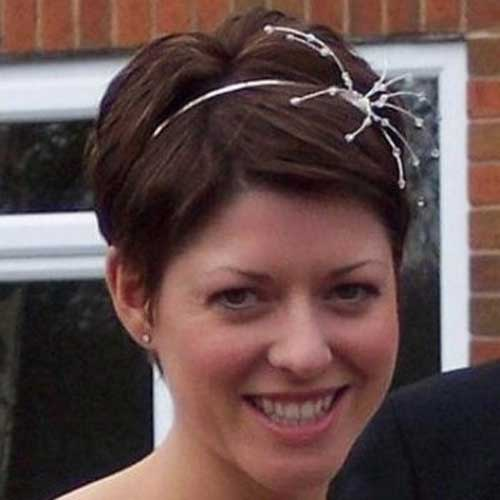 Short Hairstyles for Bridal-4