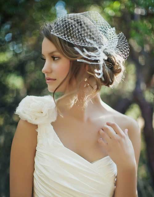 Short Hairstyles for Bridal-5