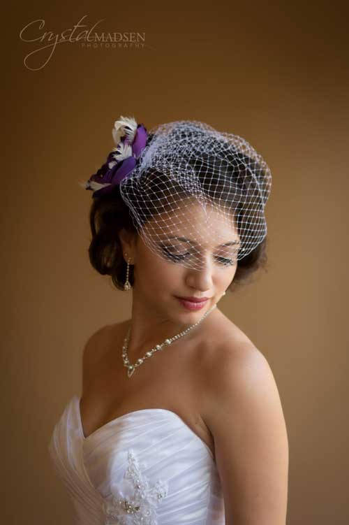Short Hairstyles for Bridal-6