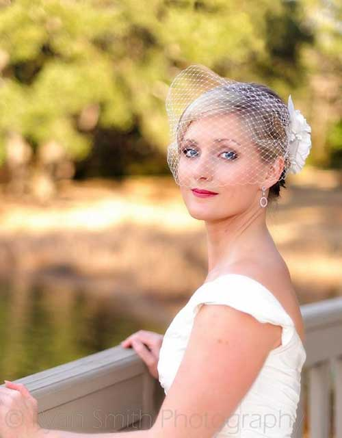 Short Hairstyles for Bridal-9