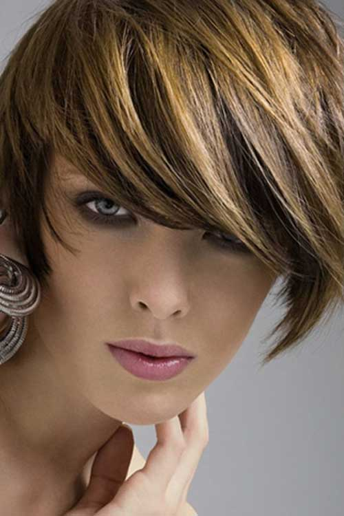 Short Light brown Bob Hairstyle