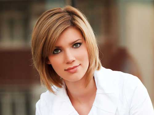 Short Straight Hair for Women-7