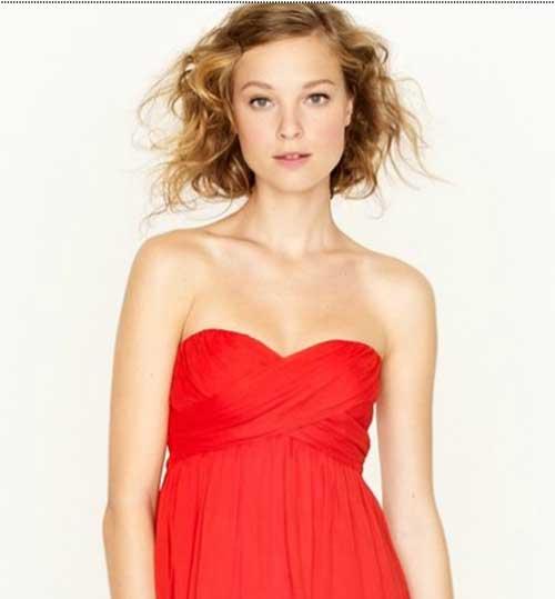 Short Wavy Hair for Women-11