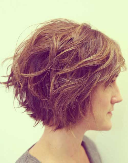 Short Wavy Hair for Women-2