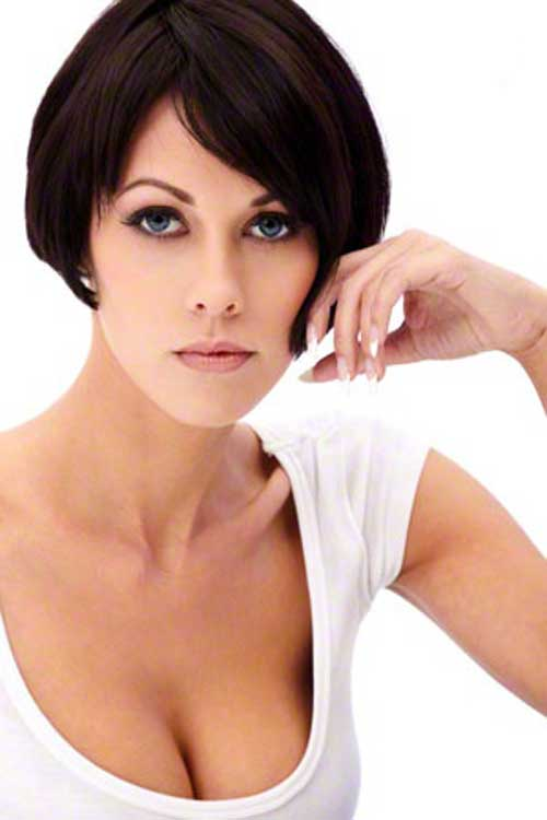 Short black bob haircuts