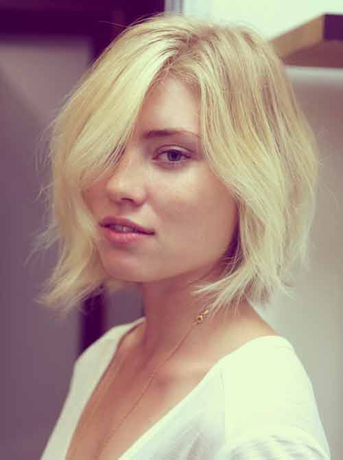 Short blonde bob haircuts