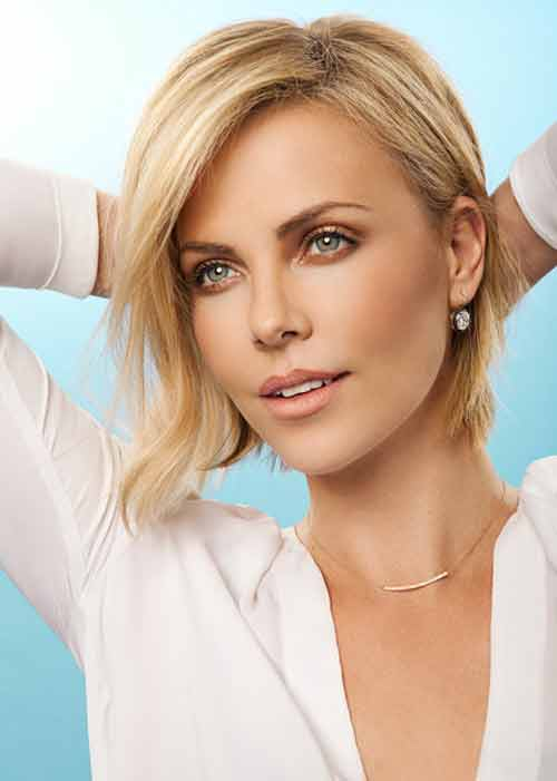 Short blonde celebrity hairstyles