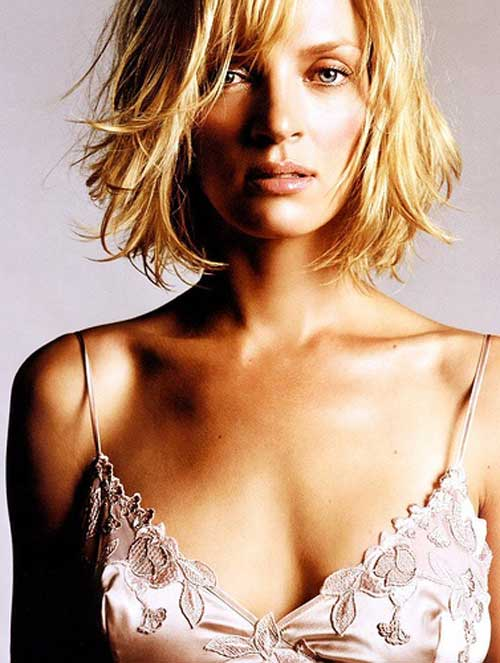 Short choppy blonde hairstyles