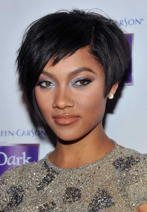 Choppy haircut is also a different style bob haircut. It looks like a ...