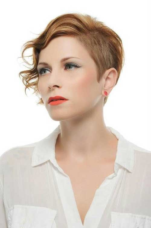 Short copper hairstyles