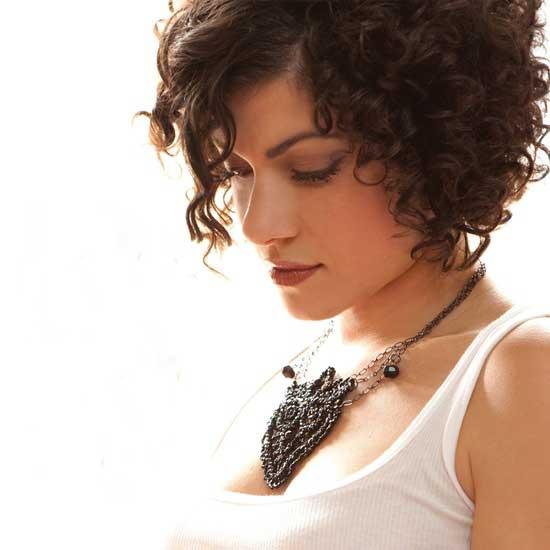 Curly hair ideas for short hair