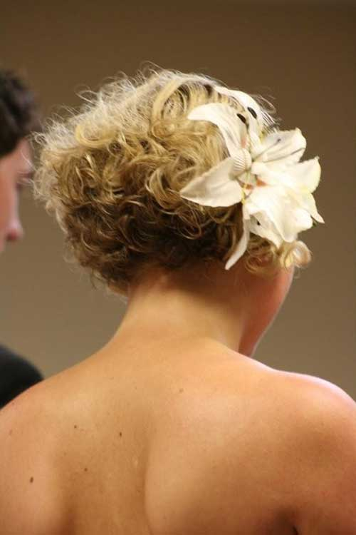 20 Short Hairstyles for Bridal