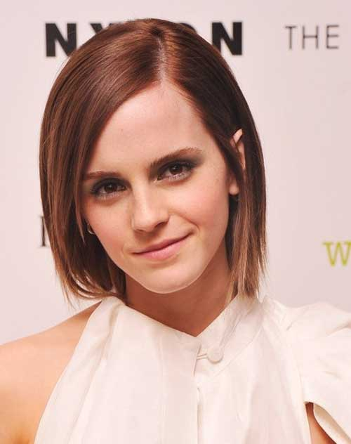 Short haircuts for straight hair 2013