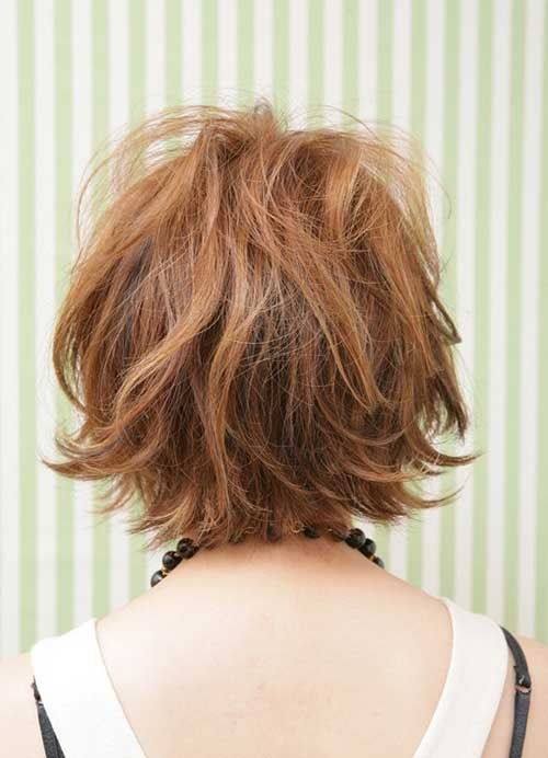 Short messy haircuts for women