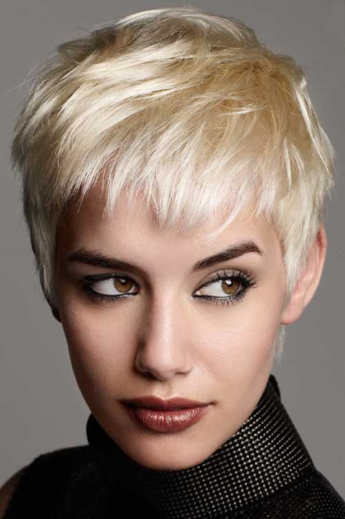 Short pixie crop hairstyles