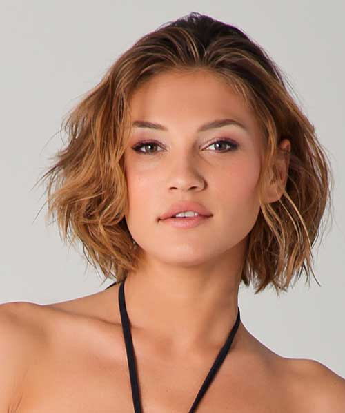 Pleasing Short Haircuts Curly Hair Round Face Short Hairstyles Short Hairstyles Gunalazisus