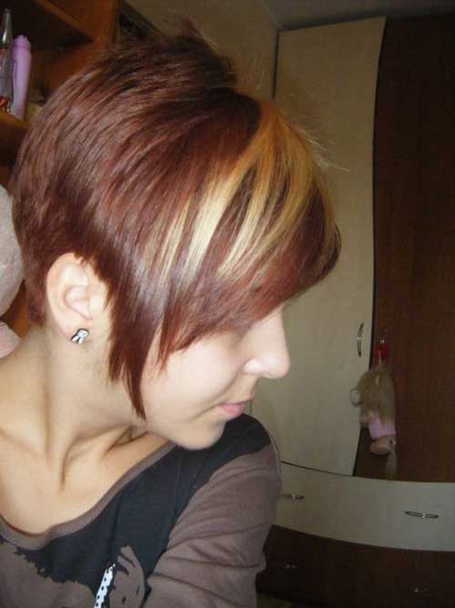 Trendy Super Short Hair-10