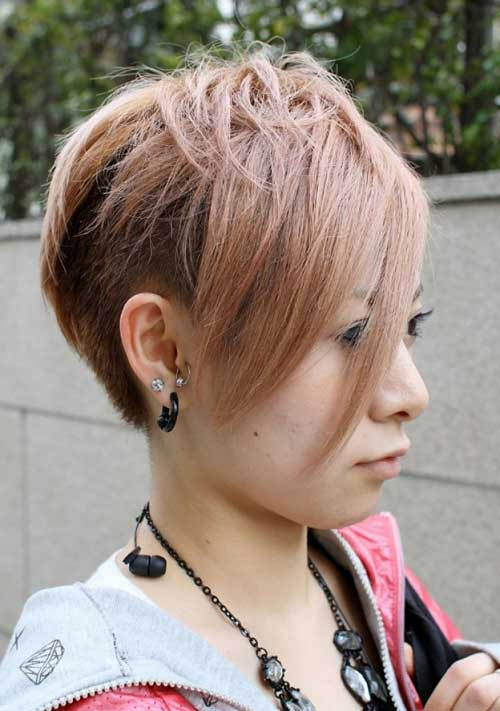 Trendy Super Short Hair-11