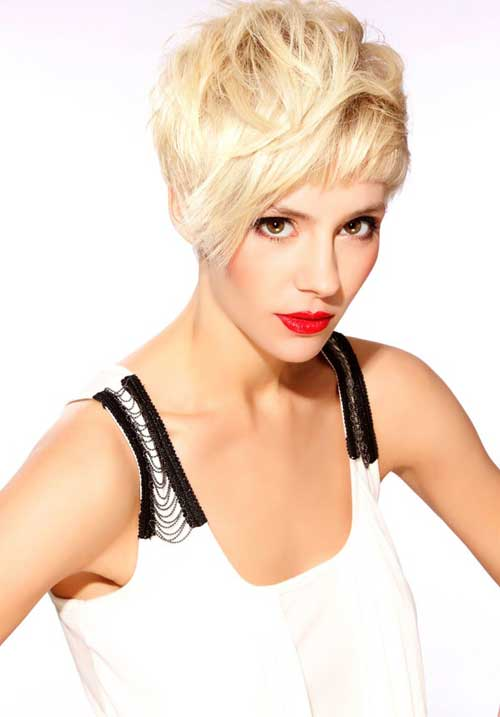Trendy Super Short Hair-2
