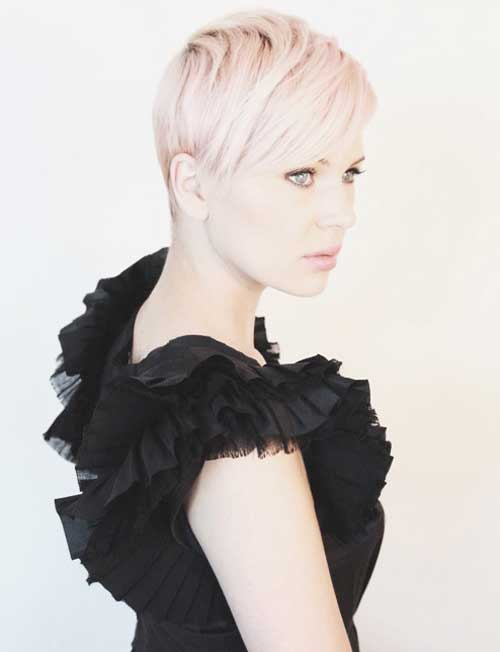 Trendy Super Short Hair-4
