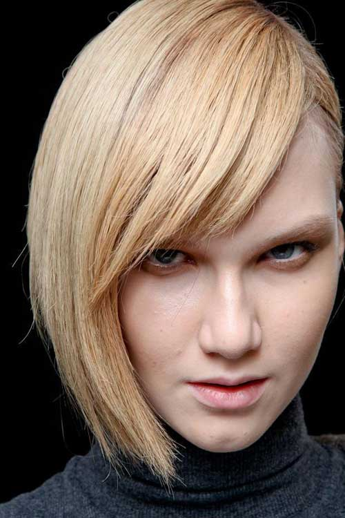 Trendy short blonde hairstyles 2013
