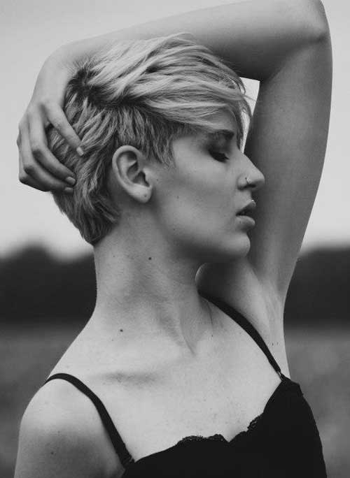 Trendy short haircuts for summer 2013