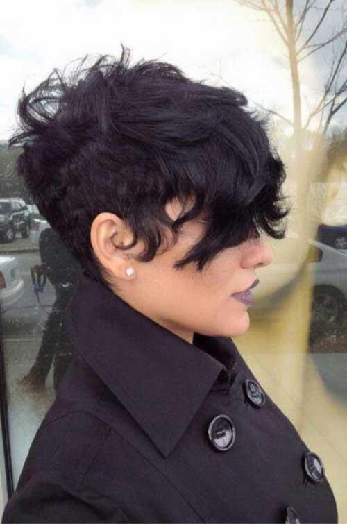 Surprising Best Short Haircut For Wavy Hair Short Hairstyles 2016 2017 Short Hairstyles For Black Women Fulllsitofus