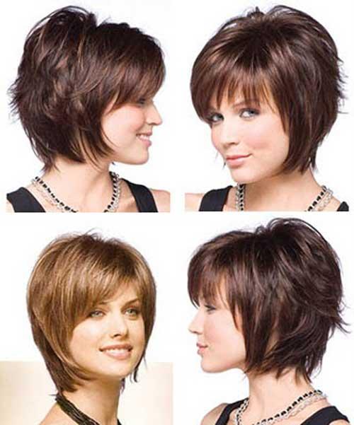 Very short layered bob haircuts