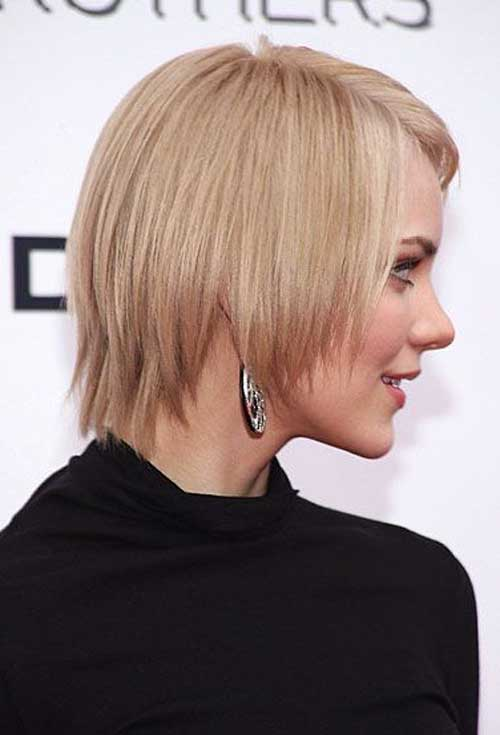 20 Straight Short Haircuts for Women-6